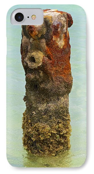 Rusted Dock Pier Of The Caribbean Vii IPhone Case