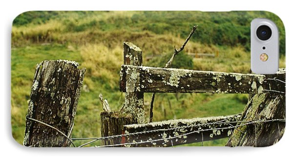 Rustic Fence Phone Case by Marilyn Wilson