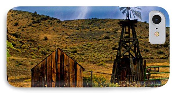 Rustic Windmill Phone Case by Marty Koch
