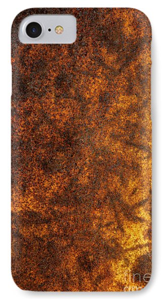 Rusty Background IPhone Case by Carlos Caetano