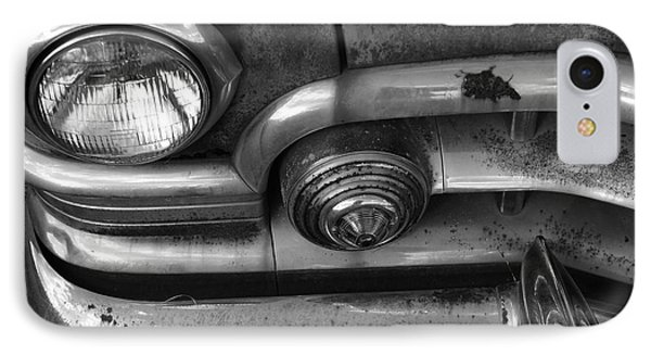 Rusty Cadillac Detail Phone Case by Lyle Hatch