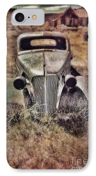 Rusty Car  IPhone Case by Jill Battaglia