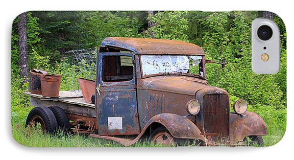 Rusty Chevy IPhone Case by Steve McKinzie
