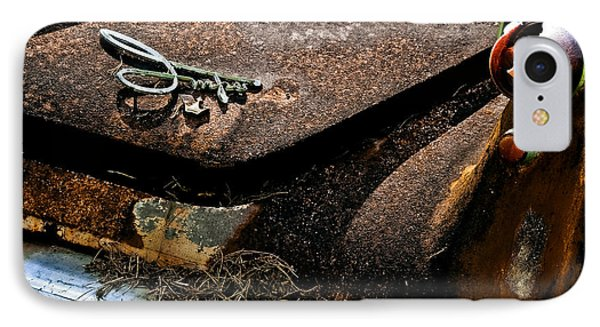 Rusty Impe Phone Case by DigiArt Diaries by Vicky B Fuller