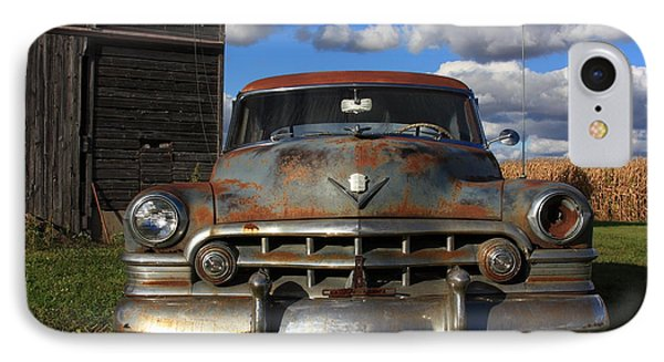 Rusty Old Cadillac Phone Case by Lyle Hatch