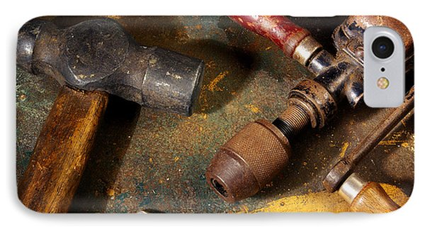 Rusty Tools IPhone Case by Carlos Caetano