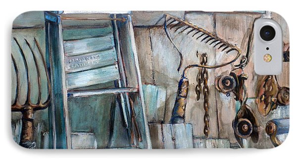 Rusty Tools Phone Case by Jean Groberg