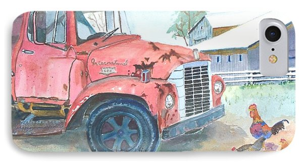 Rusty Truck IPhone Case by Christine Lathrop