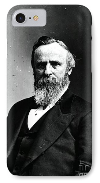 Rutherford B. Hayes, 19th American Phone Case by Photo Researchers