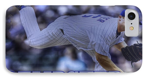 Ryan Dempster IPhone Case by David Bearden