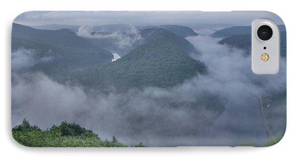 Saar Loop In The Morning Fog Phone Case by Heiko Koehrer-Wagner