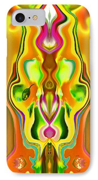 Sacred Flower Phone Case by Mathilde Vhargon