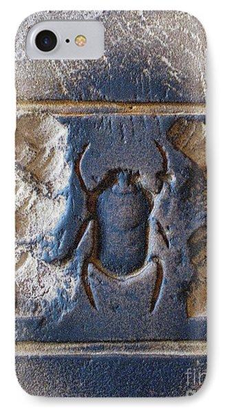 Sacred Scarab. Phone Case by JSM Fine Arts John Malone
