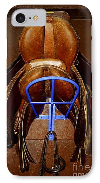 Saddles IPhone Case by Elena Elisseeva
