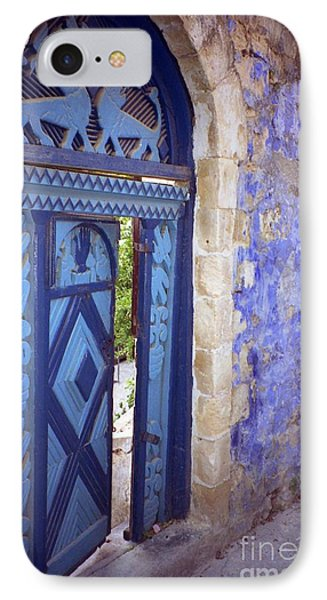 IPhone Case featuring the photograph Safed Door by Arlene Carmel