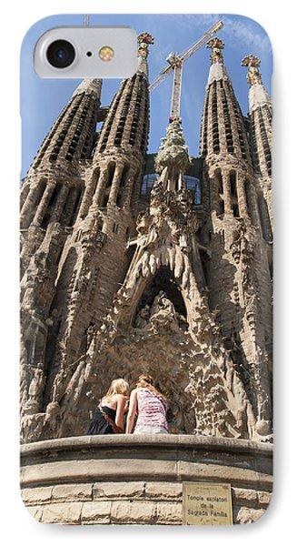 Sagrada Familia Church - Barcelona Spain Phone Case by Matthias Hauser