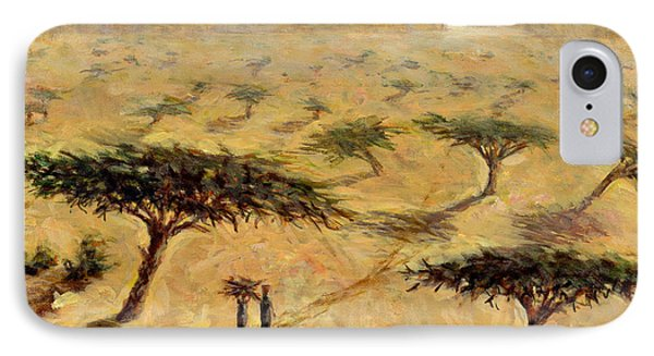 Sahelian Landscape Phone Case by Tilly Willis