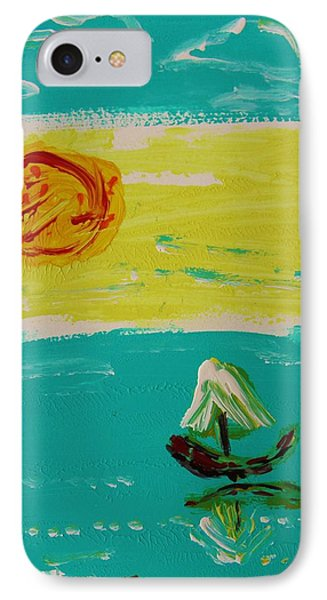 Sail And Hot Sun IPhone Case