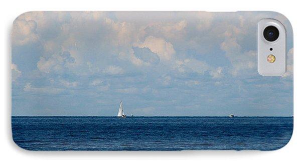 Sailboat On Lake Ontario Phone Case by Rose Santuci-Sofranko