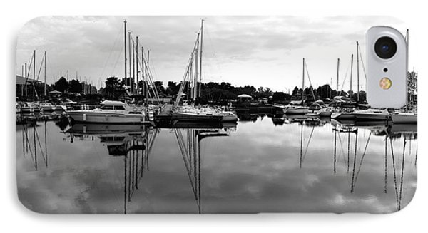 Sailboats At Bluffers Marina Toronto IPhone Case by Susan  Dimitrakopoulos