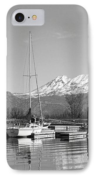 Sailboats At Utah Lake State Park Phone Case by Tracie Kaska
