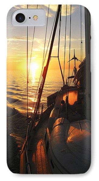 Sailing IPhone Case by Anne Mott