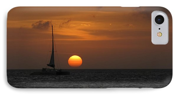 IPhone Case featuring the photograph Sailing Away by David Gleeson