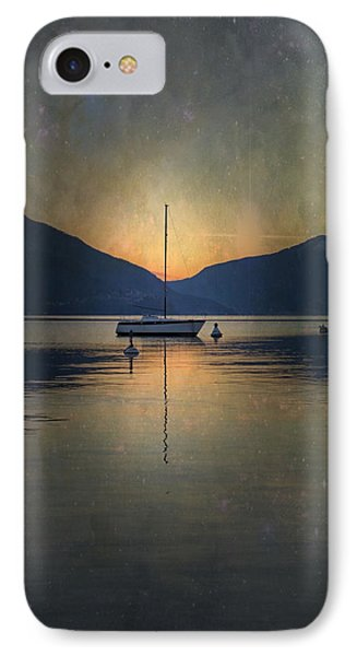 Sailing Boat At Night IPhone Case by Joana Kruse