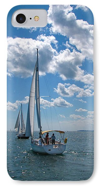 IPhone Case featuring the photograph Sailing by Cindy Haggerty