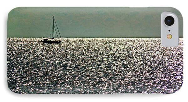 IPhone Case featuring the photograph Sailing On A Sea Of Diamonds by William Fields
