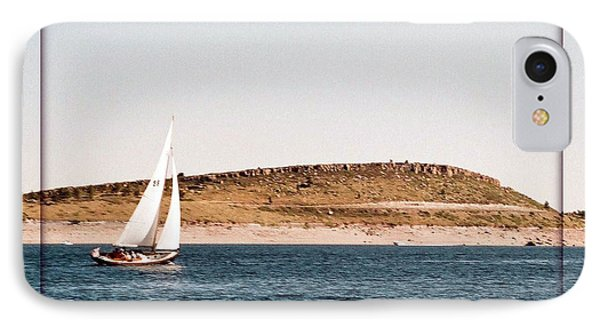 IPhone Case featuring the photograph Sailing On Carter Lake by David Pantuso