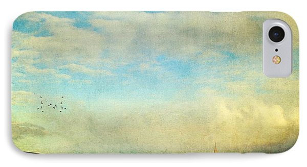 Sailing On The Sea IPhone Case by Michele Cornelius
