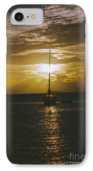 Sailing Sunset IPhone Case by William Norton