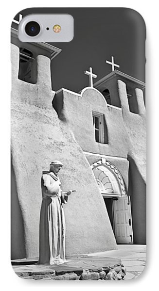 Saint Francisco De Asis Mission Phone Case by Melany Sarafis