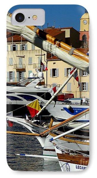 Saint Tropez Harbor IPhone Case by Lainie Wrightson