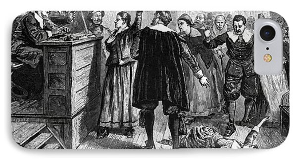 Salem Witch Trials, 1692-93 Phone Case by Photo Researchers
