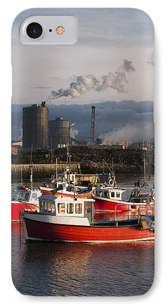 Saltburn, Teesside, England Boats Phone Case by John Short
