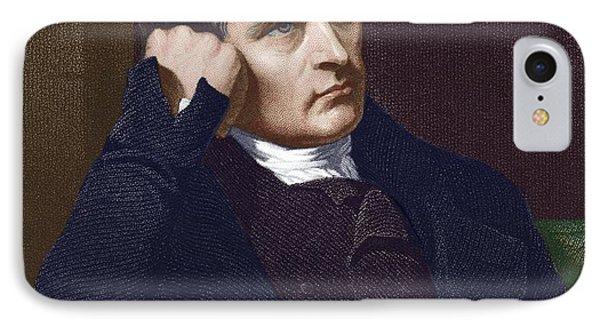 Samuel Crompton, British Inventor Phone Case by Sheila Terry