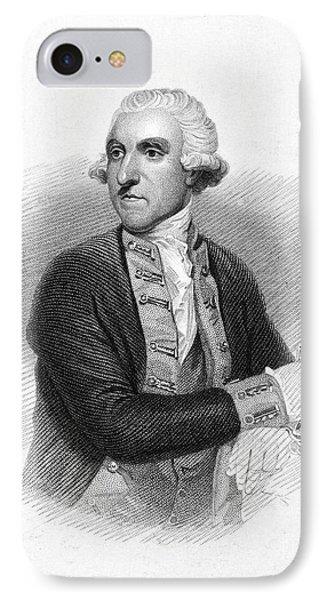 Samuel Hood (1724-1816) IPhone Case by Granger