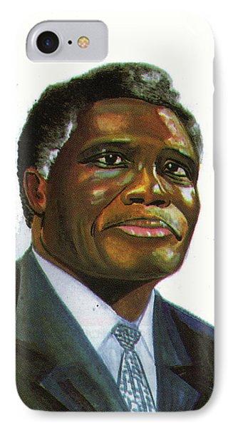 Samuel Kobia Phone Case by Emmanuel Baliyanga