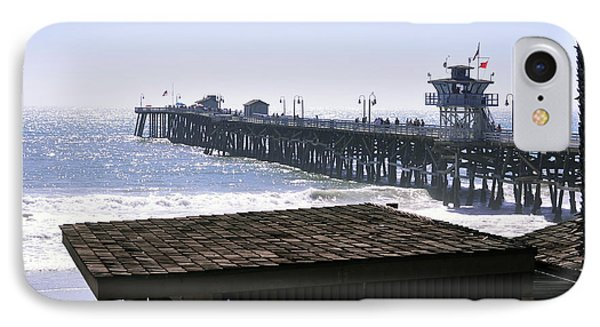 San Clemente Pier California Phone Case by Clayton Bruster