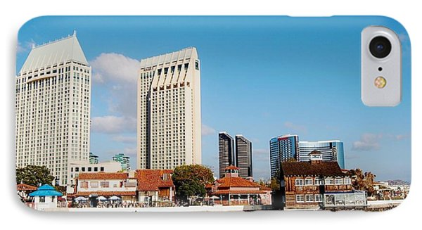 IPhone Case featuring the photograph San Diego - Seaport Village by Jasna Gopic