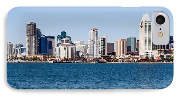 San Diego Skyline Buildings Phone Case by Paul Velgos
