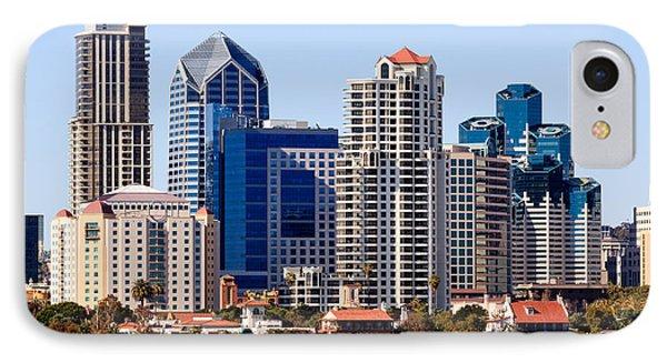 San Diego Skyline Photo IPhone Case