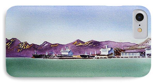 San Francisco Bay Richmond Port IPhone Case by Irina Sztukowski