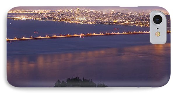 San Francisco Dusk IPhone Case by Wes and Dotty Weber