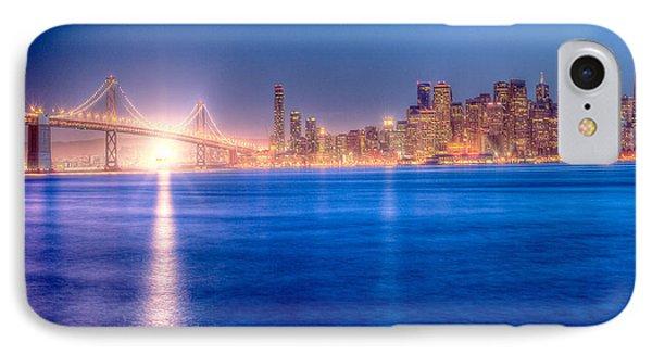 San Francisco Skyline Phone Case by Ariane Moshayedi