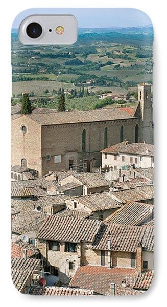 San Gimignano Phone Case by Rob Tilley