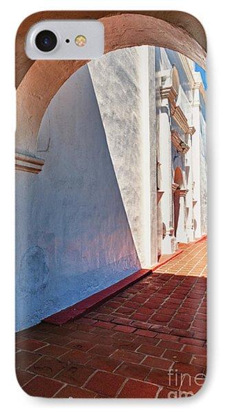 San Luis Rey Courtyard IPhone Case by Sandra Bronstein