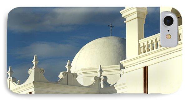 San Xavier Del Bac Mission Arizona Phone Case by Bob Christopher